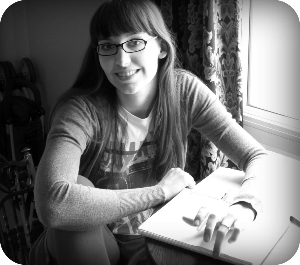 Kathleen writing