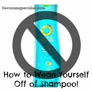 How (and why) to wean off of shampoo
