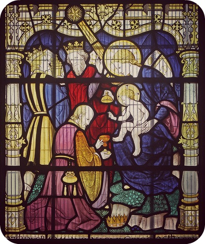magi stained glass