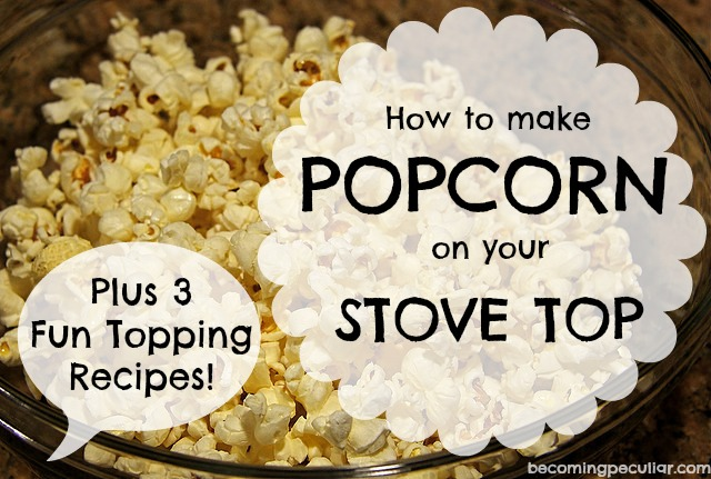 stovetop popcorn