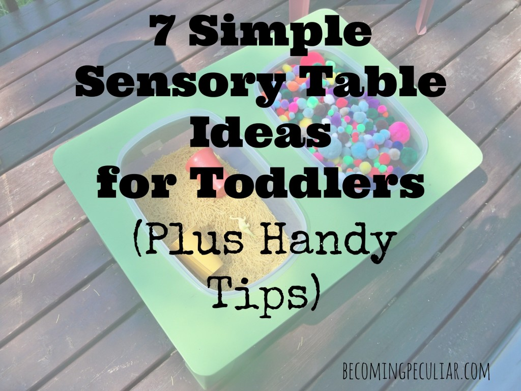 7 simple sensory table ideas for toddlers (plus some handy tips)