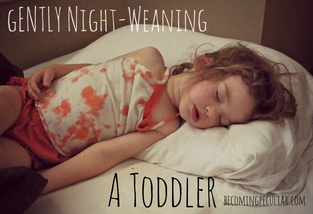 How we (gently) night-weaned our two-year-old