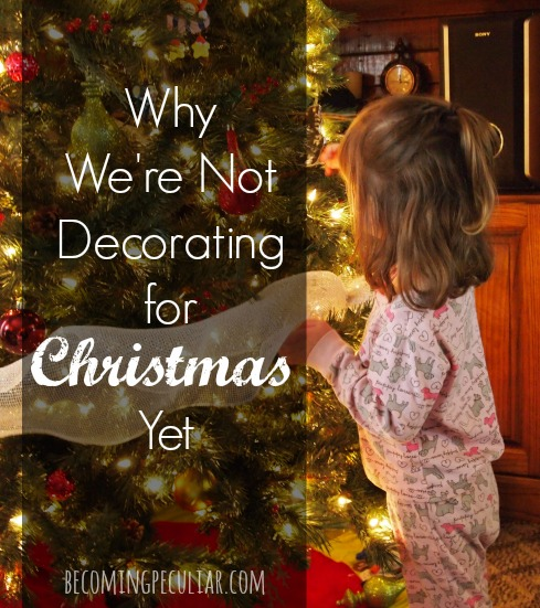 6 Reasons to Wait Until December to Start Celebrating Christmas