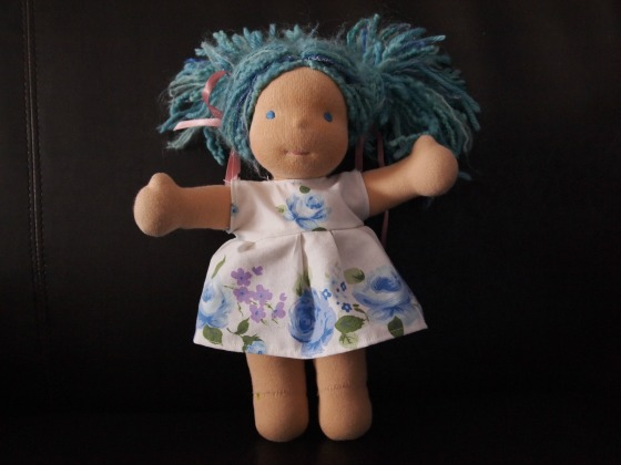 waldorf doll dress