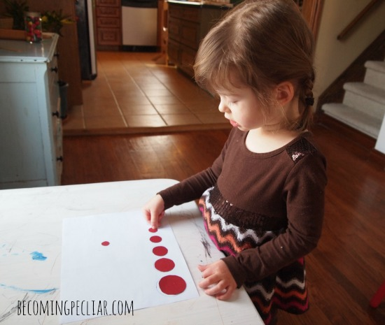 Montessori activities for a two-year-old