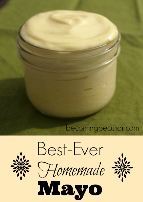 Best-Ever Homemade Mayo (super-easy!)