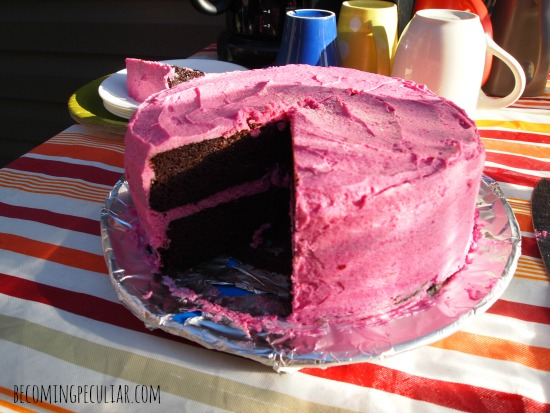 Chocolate Beet Cake With Beet Cream Cheese Frosting Recipes ...