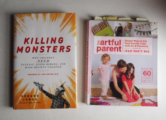 September books: Killing Monsters and Artful Parent