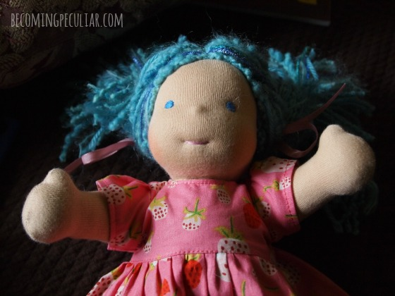Bamboletta Waldorf Doll - Christmas gift ideas for a 2-year-old
