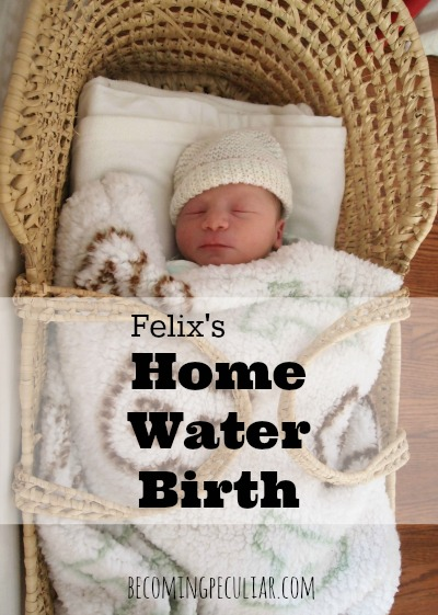 Home Water Birth Story
