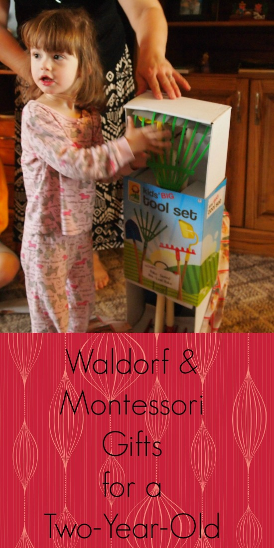 waldorf and montessori gift ideas for a two-year-old