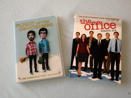 Flight of the Conchords and The Office