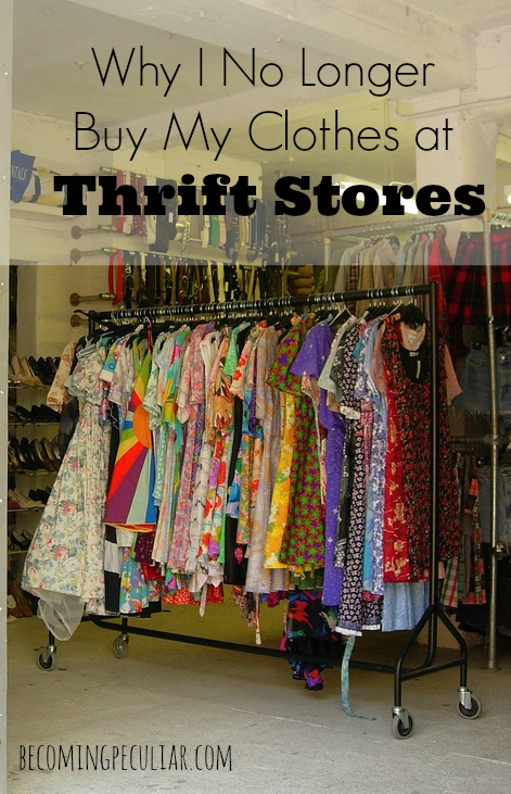 why i no longer shop for clothes at thrift stores