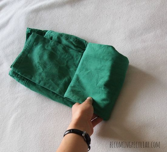 folding pants