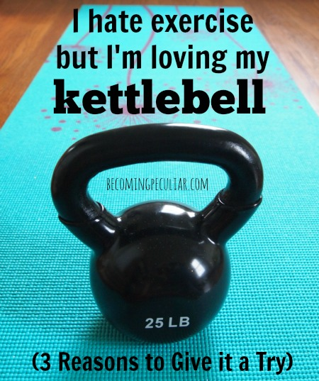 3 Reasons to Try a Kettlebell (Even if you hate exercise)