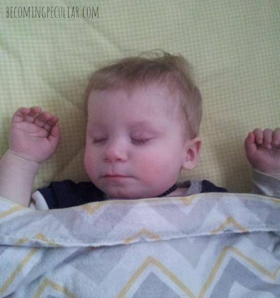 sleeping felix