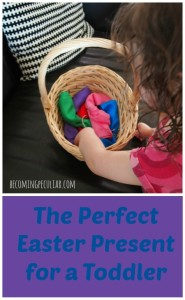 the perfect easter basket gift for a toddler: play silks!
