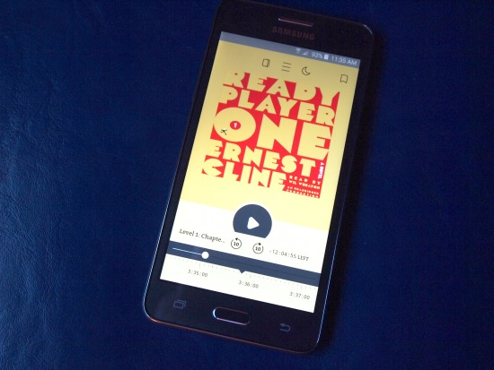 audiobook - ready player one