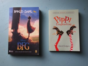 children's book - bfg and pippi longstocking