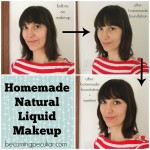homemade liquid mineral makeup