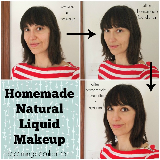 homemade liquid mineral makeup