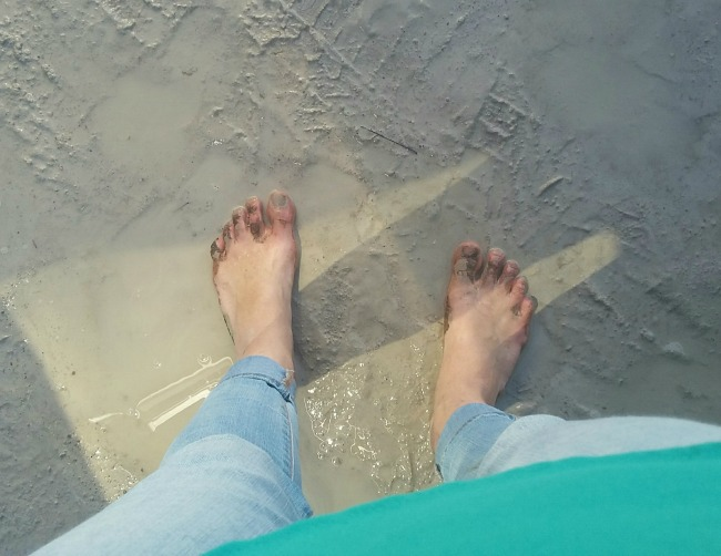 muddy walk