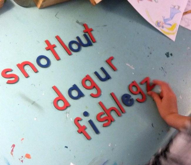 moveable alphabet - how to train your dragon