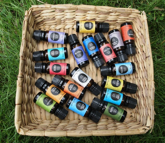 Eden's Garden essential oils synergy blends