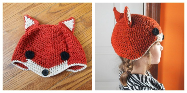 sly fox hat crochet