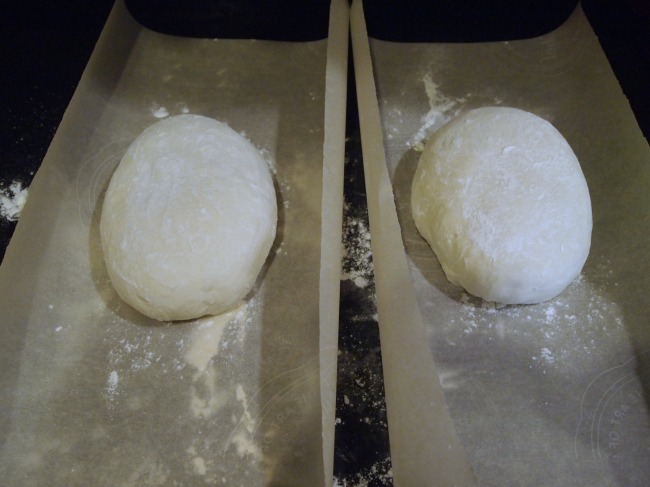 sourdough - shaping loaves