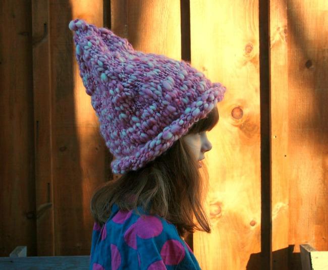 pointy elf hat