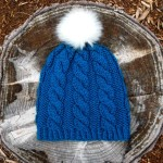 easy cabled hat