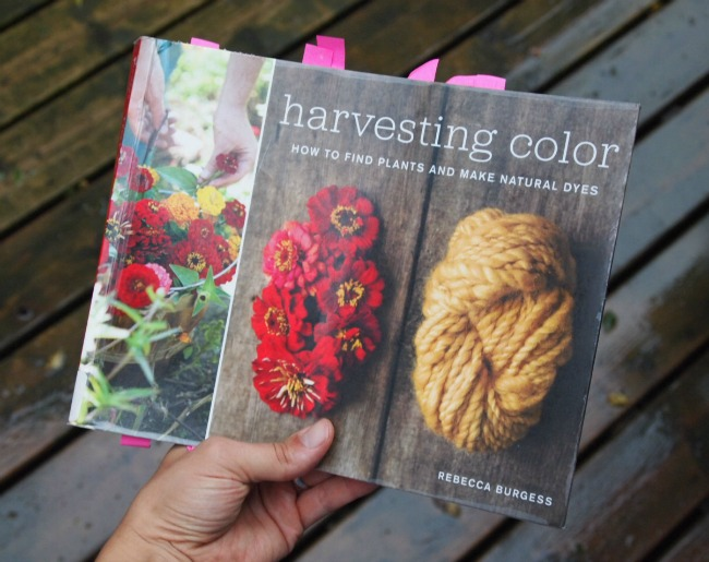 harvesting color book