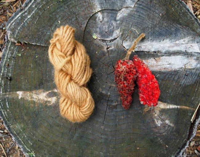 natural sumac dye